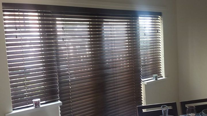 50mm Wood Venetian Blinds.